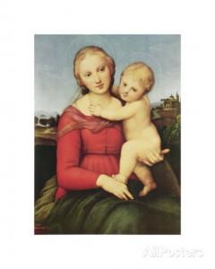 raphael-カウパーの聖母