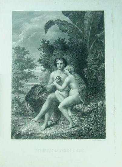 イヴ林檎をアダムに与える