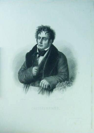 シャトーブリアンの肖像画